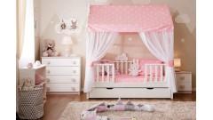 Кровати-домики из массива сосны