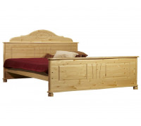Кровать Айно, 1600х2000 (бесцветный лак)