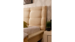 Кровать Брамминг № 1 мягкая • Двуспальные кровати