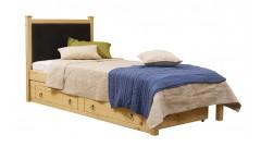 Кровать Дания № 1/1 мягкая, с ящиками • Детские кровати