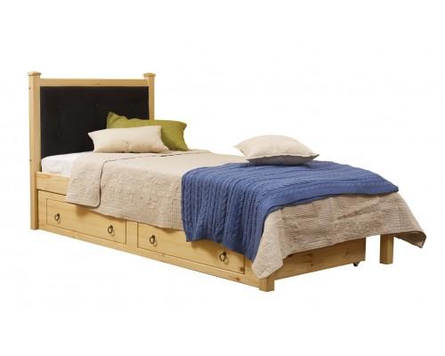 Кровать 1-спальная Дания №1/1 мягкая (без ящиков)