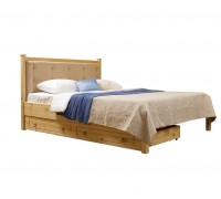Кровать Дания № 1/1 мягкая, с ящиками