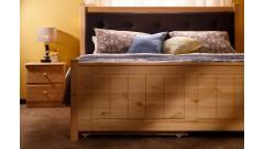 Кровать Дания № 1 мягкая, с ящиками • Кровати