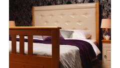 Кровать Дания № 2 мягкая, с ящиками • Двуспальные кровати