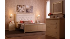Кровать Дания № 4 мягкая, с ящиками • Кровати