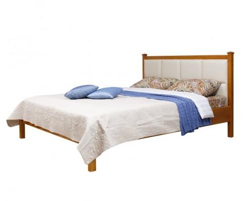 Кровать 2-спальная Дания №1/1 мягкая