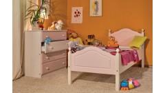 Кровать Кая № 2 с фигурными бортиками • Детские кровати