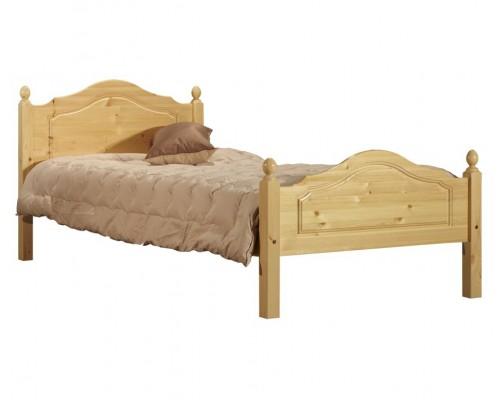 """Кровать """"Кая"""" №2, 900х2000 (слоновая кость)"""