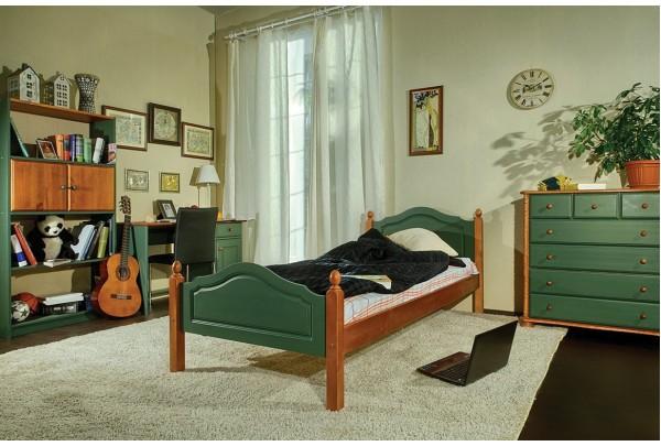 """Кровать """"Кая"""" №2, 900х2000 (слоновая кость) • Распродажа со склада ✔"""