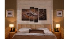 Кровать мягкая Классик № 1 с ящиками • Кровати