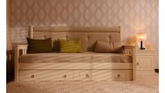 Тахта Дания мягкая, с ящиками • Кровати - Диваны