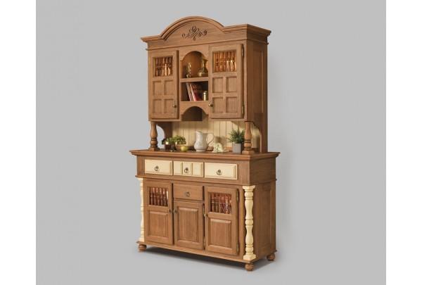 Сервант Валенсия 2-23 • Мебель «ВАЛЕНСИЯ»
