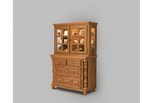 Сервант Валенсия 2-24 • Мебель «ВАЛЕНСИЯ»