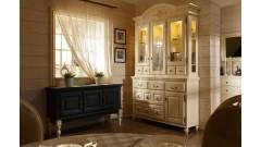 Сервант Валенсия 2-4 • Мебель «ВАЛЕНСИЯ»