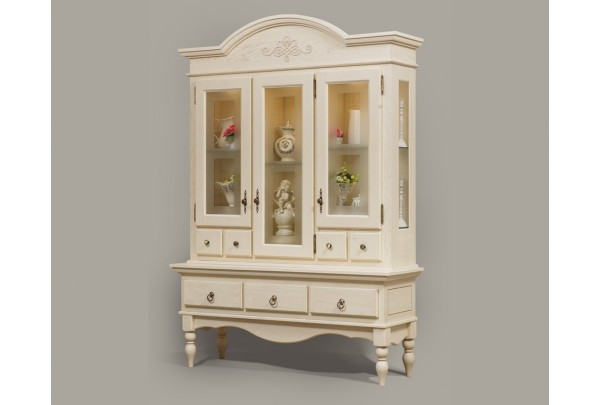 Сервант Валенсия 2-5 • Мебель «ВАЛЕНСИЯ»