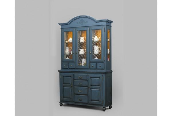 Сервант Валенсия 2-57 • Мебель «ВАЛЕНСИЯ»