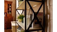 Стеллаж Валенсия 2-48 • Мебель «ВАЛЕНСИЯ»