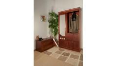 Шкаф для прихожей Дания комбинированный • Мебель «ДАНИЯ»
