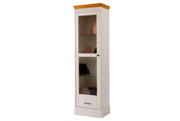 Шкаф Дания книжный 1-створчатый • Мебель «ДАНИЯ»